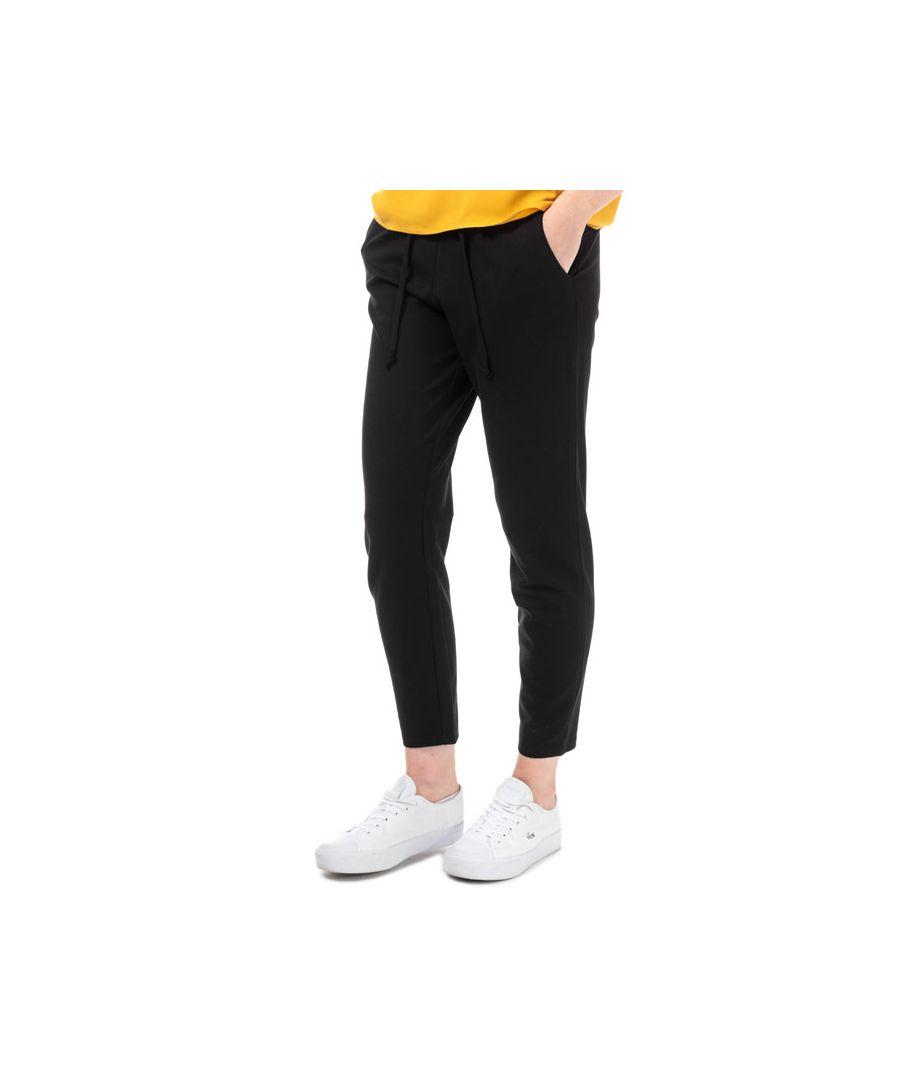 Image for Women's Jacqueline de Yong Pretty Jersey Trousers in Black