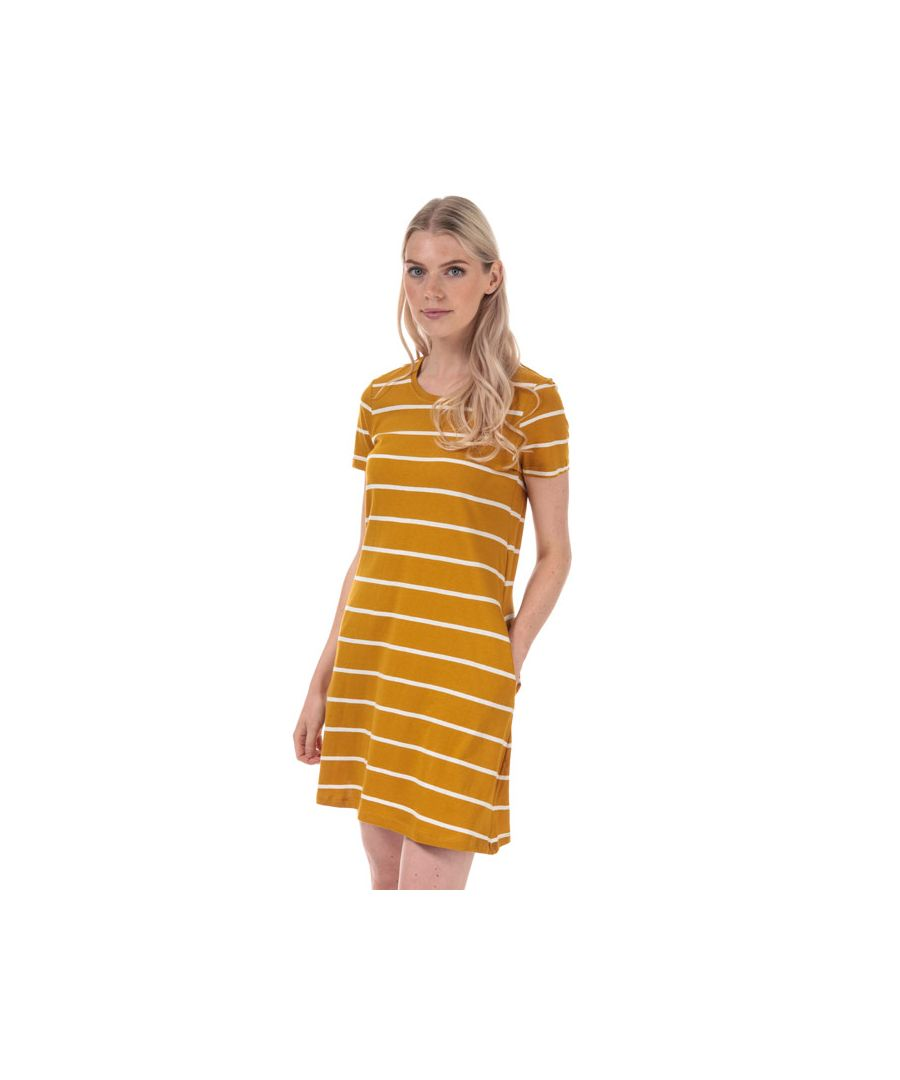 Image for Women's Only May Life A-Line Stripe Dress in Mustard