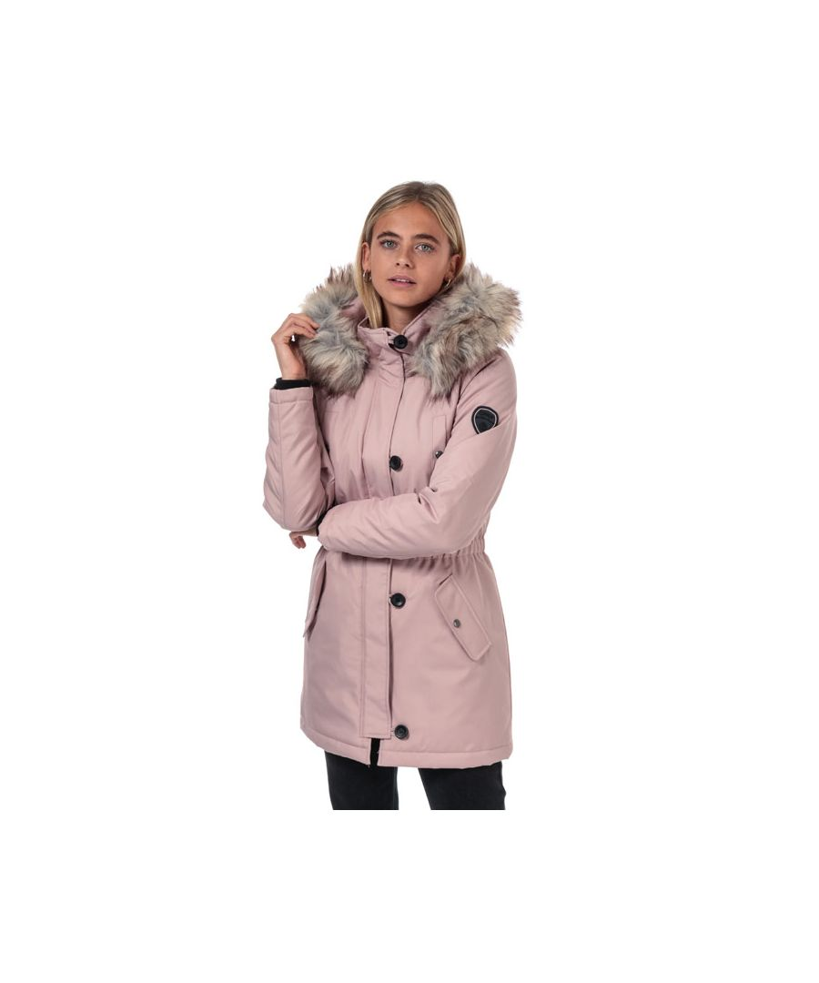 Image for Women's Only Iris Winter Parka Jacket in Rose