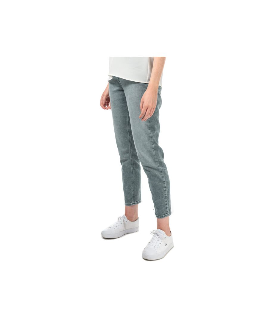 Image for Women's Only Veneda Life Mom Jeans in Grey