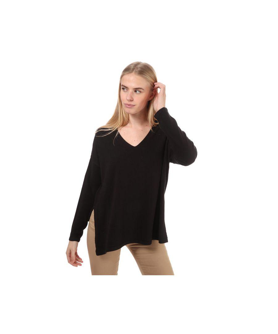 Image for Women's Only Amalia V-Neck Jumper in Black