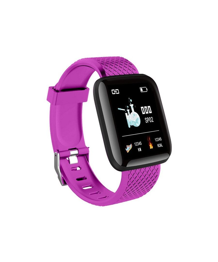 Image for LKS Smart Watch, OLED Touchscreen IP67 for Android and iOS, Purpple