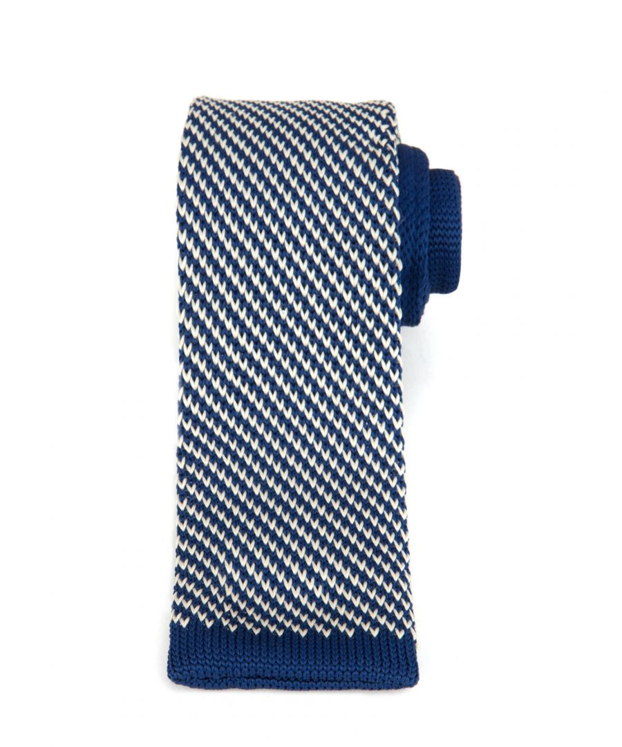 Image for Ted Baker Alexis Knitted Tie, Navy