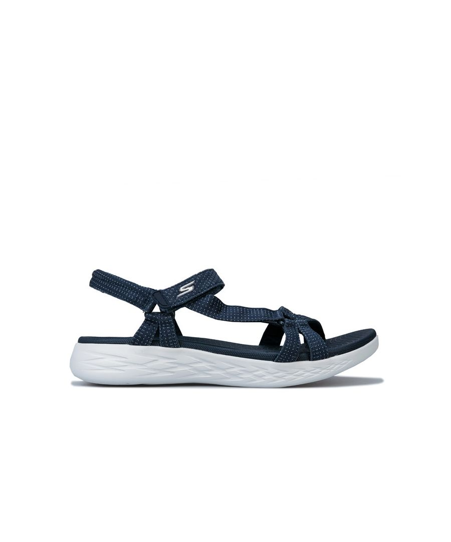 Image for Women's Skechers On The Go 600 Brilliancy Sandals in Navy