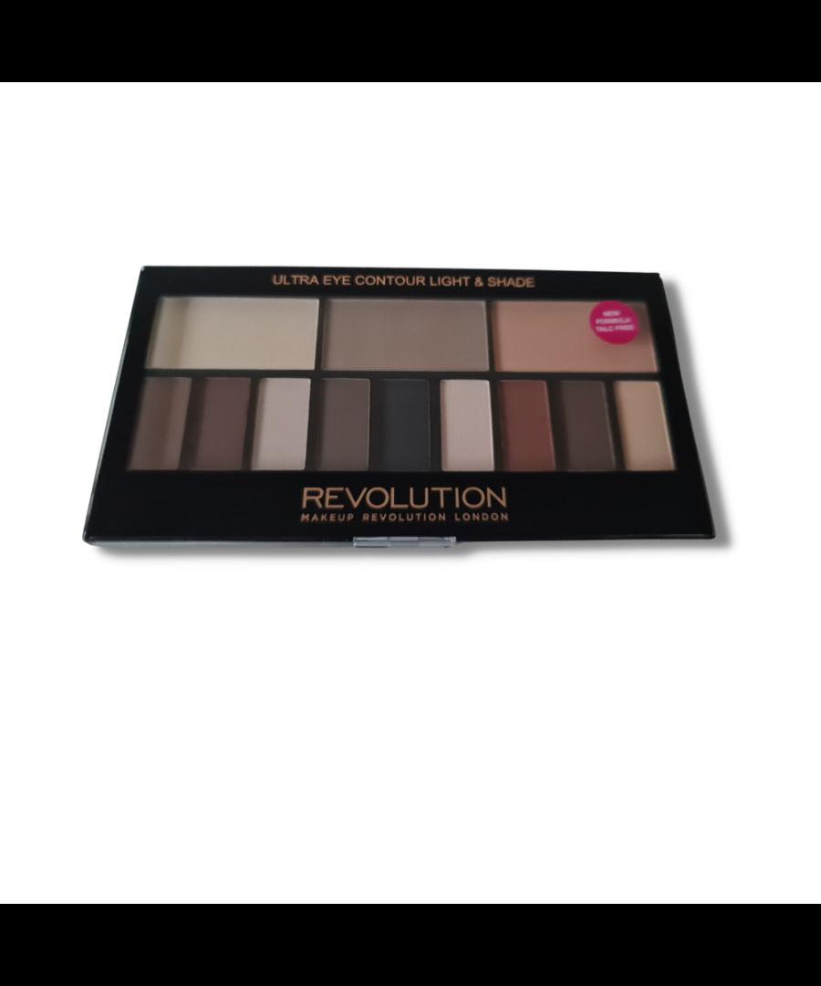 Image for Revolution Makeup London Eyeshadow Palette Ultra Eye Contour Light & Shade