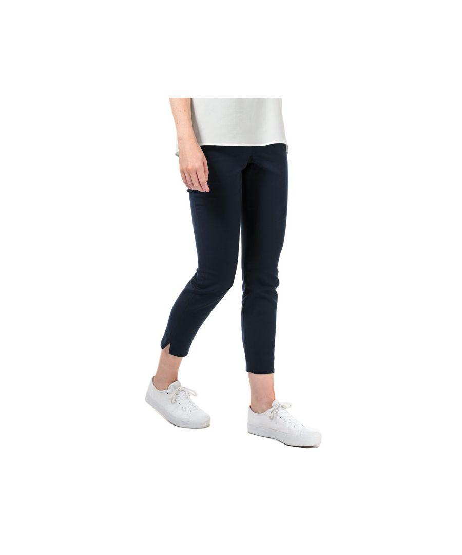 Image for Women's Ted Baker Zamelit Side Zip Skinny Trousers in Navy
