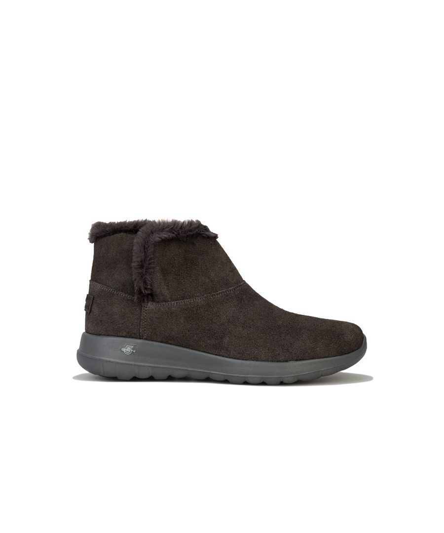 Image for Women's Skechers On The Go Joy Bundle Up Boots in Charcoal