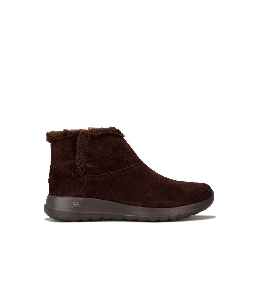 Image for Women's Skechers On The Go Joy Bundle Up Boots in Chocolate