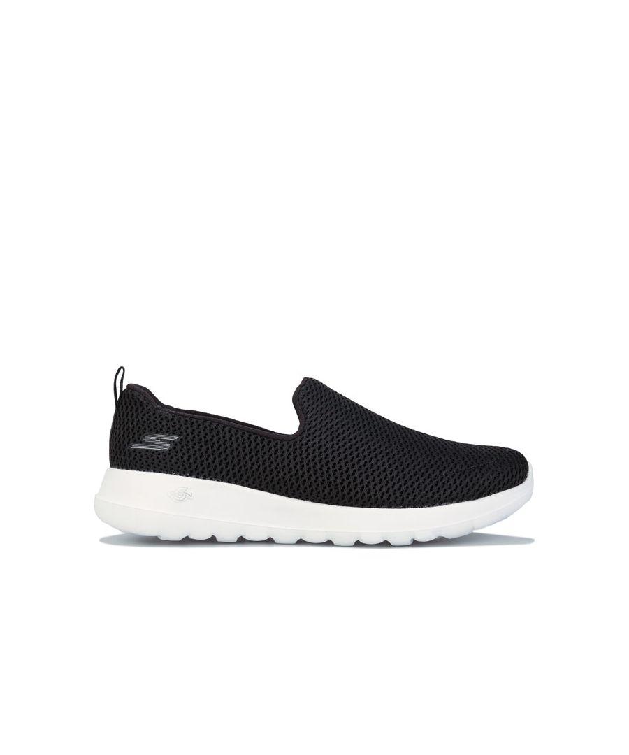 Image for Women's Skechers Go Walk Joy Shoes In Black-White