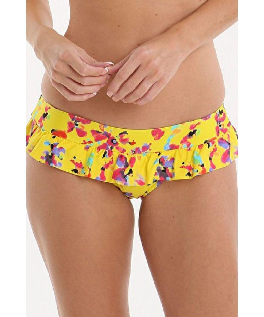 Image for Sunset Frill Bikini Brief