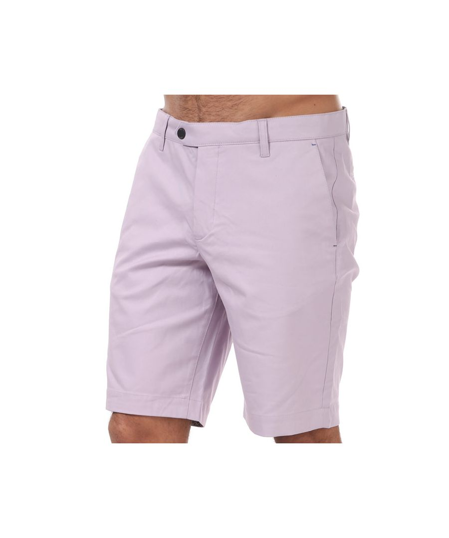 Image for Men's Ted Baker Shalom Golf Shorts in Lilac