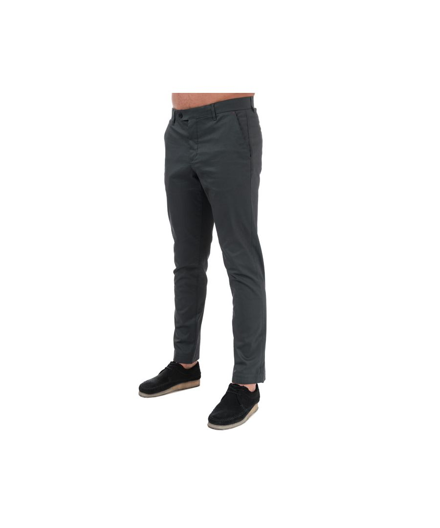 Image for Men's Ted Baker Simi Chinos in Charcoal