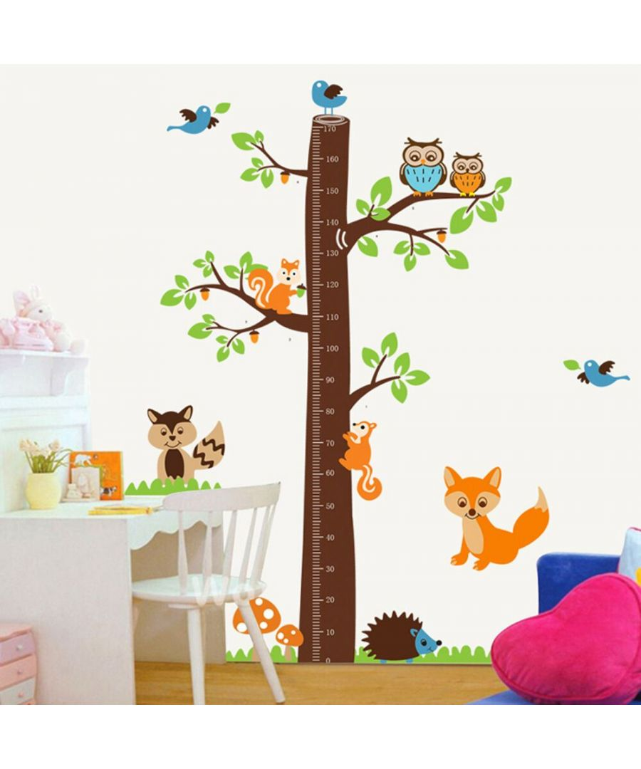 Image for Wall Art - Fox Tree Height Measure
