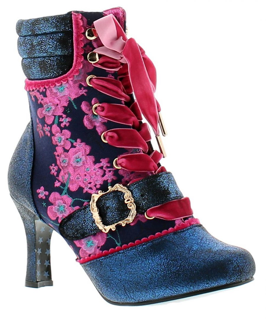 Image for Joe Browns Couture kiki womens ladies ankle boots navy