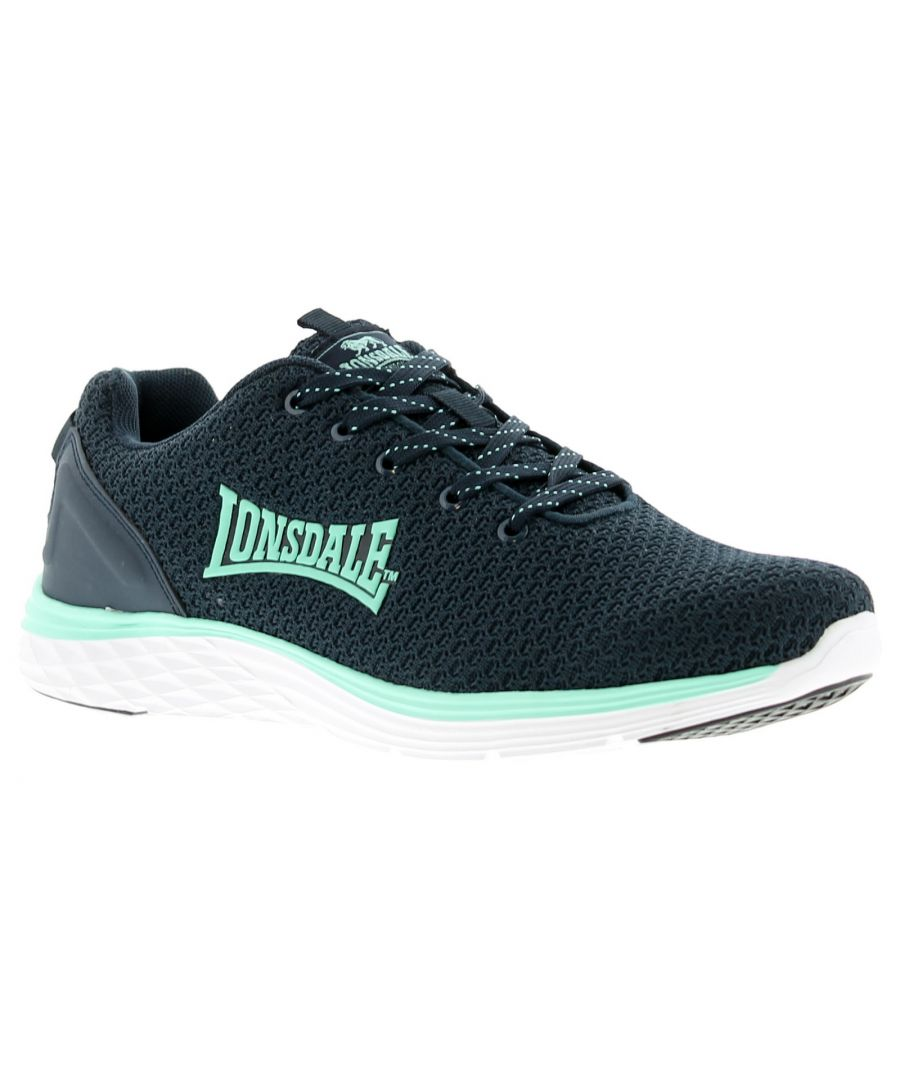 Image for Lonsdale Silwick Womens Running Trainers navy