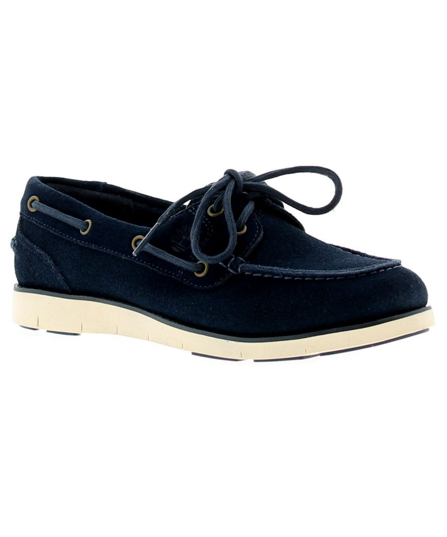 Image for Timberland Tmbl A1Gcs Womens Ladies Flats Shoes Blue