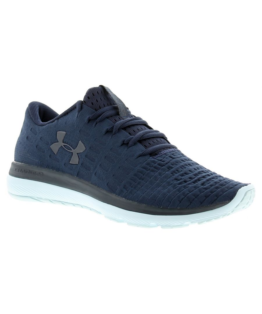 Image for Under Armour ua slingflex womens ladies trainers navy