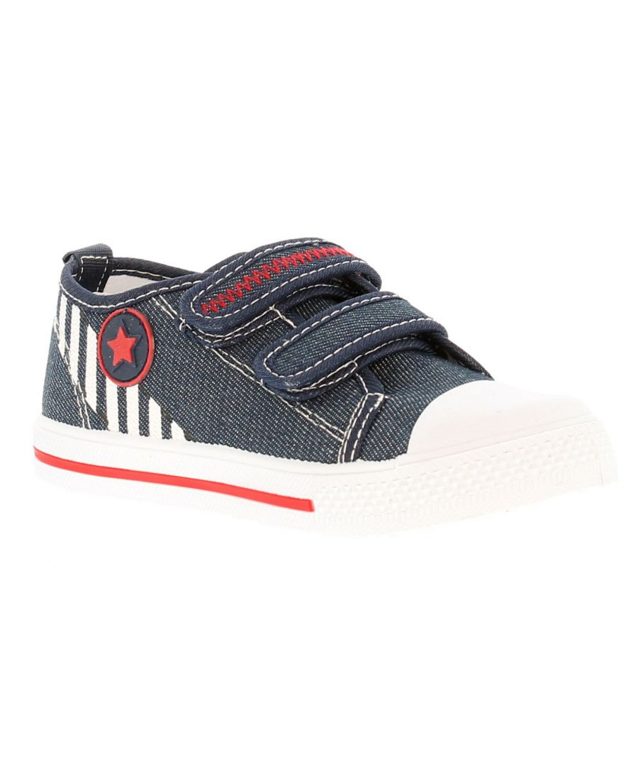 Image for Chatterbox Parker Younger Boys Canvas Shoes 4-12