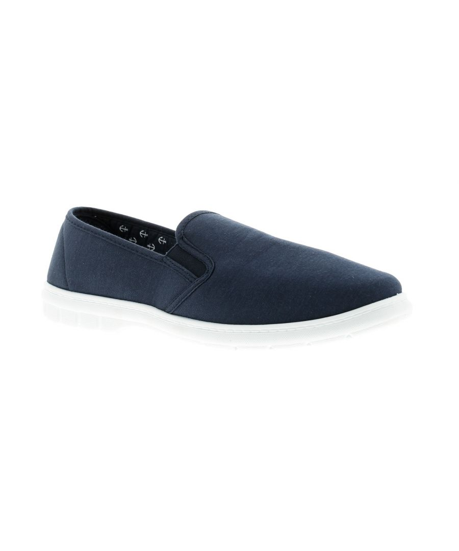 Image for Dr Keller wise Mens Canvas Shoes navy