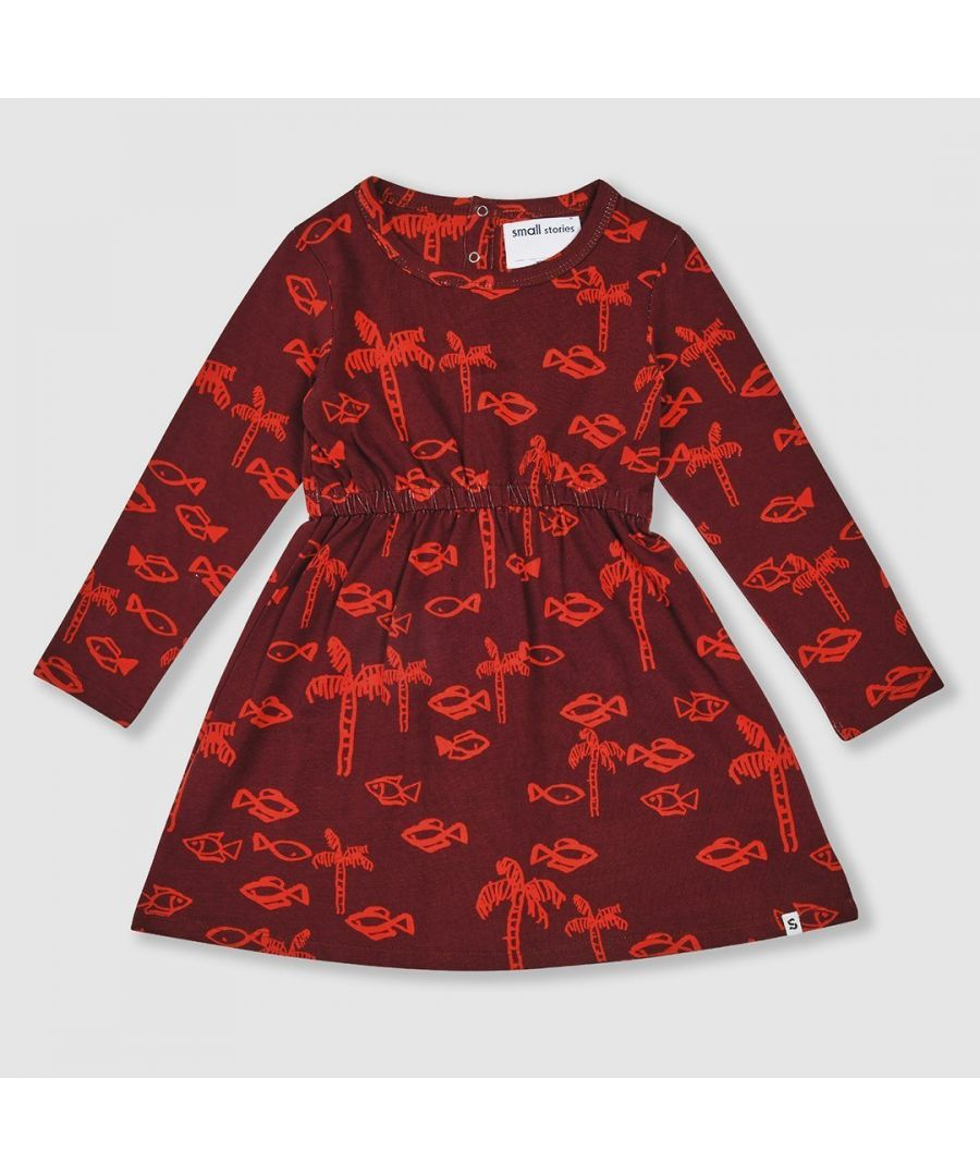 Image for Fish Print Dress
