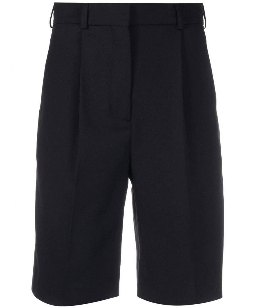 Image for ACNE STUDIOS WOMEN'S AE0018BLACK BLACK POLYESTER SHORTS