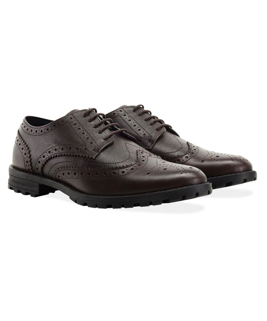 Image for Redfoot James Dark Brown Brogue