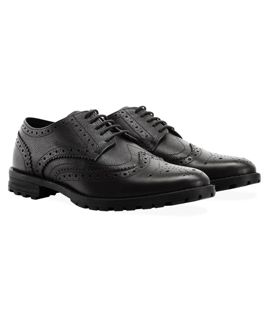 Image for Redfoot James Black Brogue