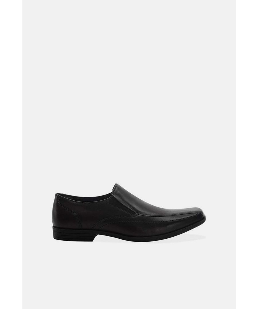 Image for Redfoot Joseph Black Leather Formal Shoe