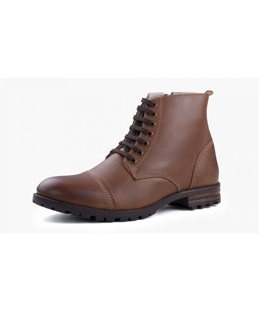 Image for Redfoot Decker Tan Leather Fashion Work Boot