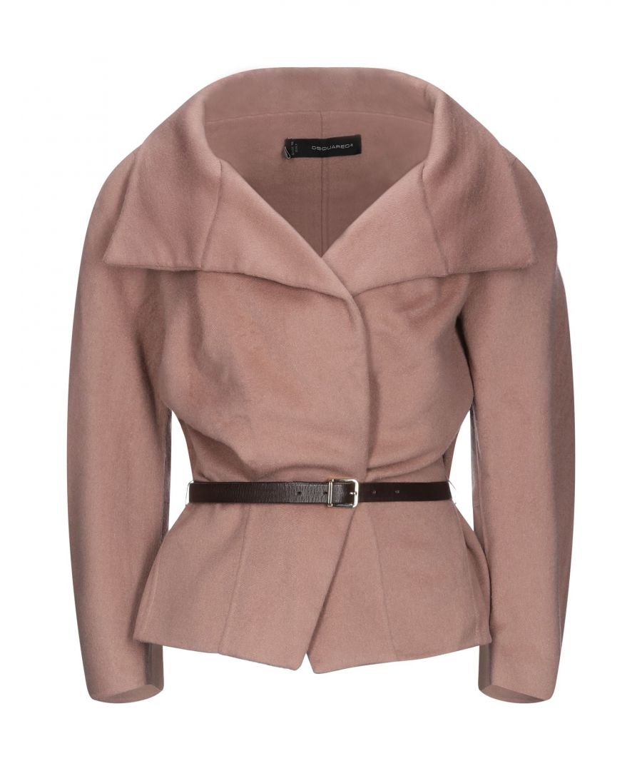 Image for Dsquared2 Woman Coats Pastel pink Virgin Wool