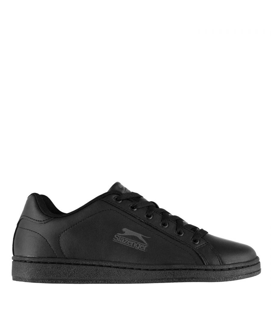 Image for Slazenger Mens Ash Lace Trainers Simplistic Design Sport Casual Shoes