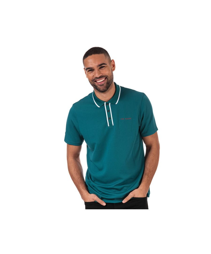 Image for Men's Ted Baker Bunka Polo Shirt in Green