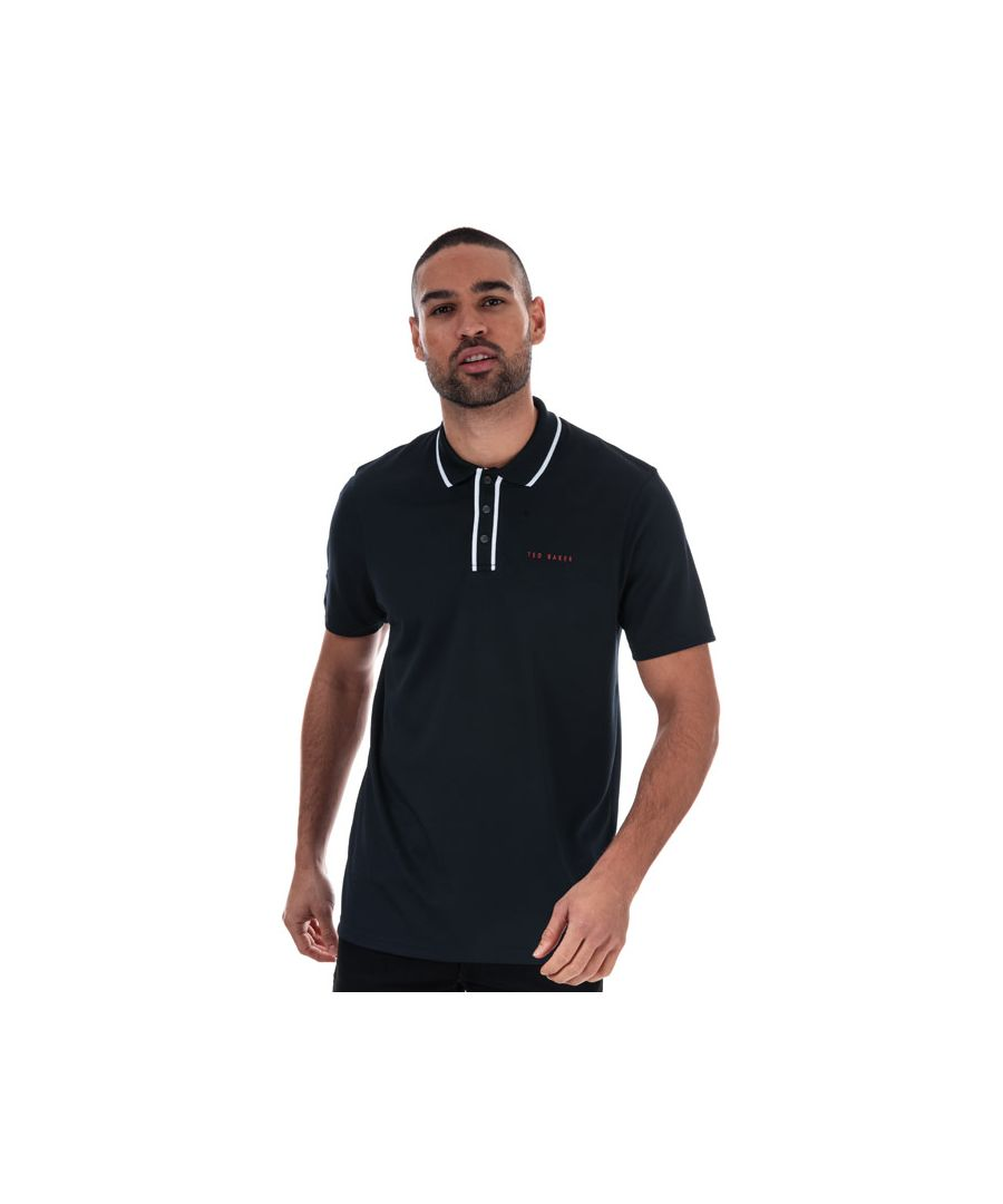 Image for Men's Ted Baker Bunka Polo Shirt in Navy