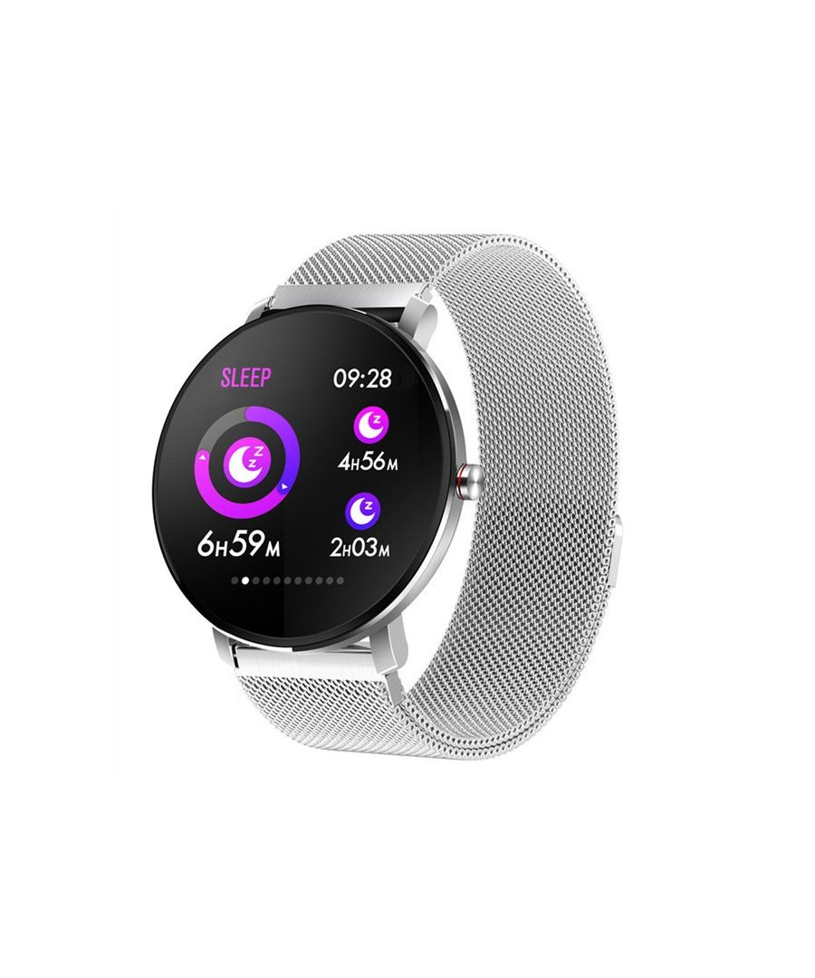 Image for LKS Smartatch K9 Multifunctional Bluetooth, Silver metal strap