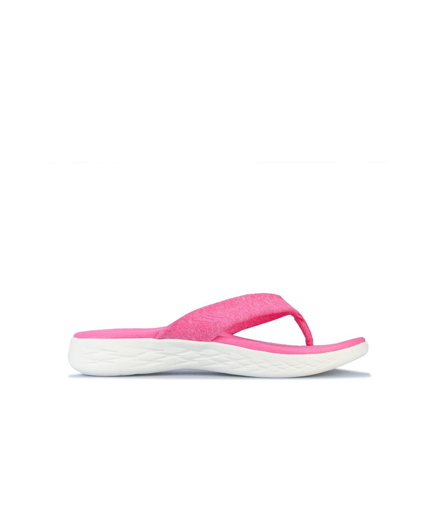 Image for Women's Skechers On The Go 600 Best Liked Sandals in Pink