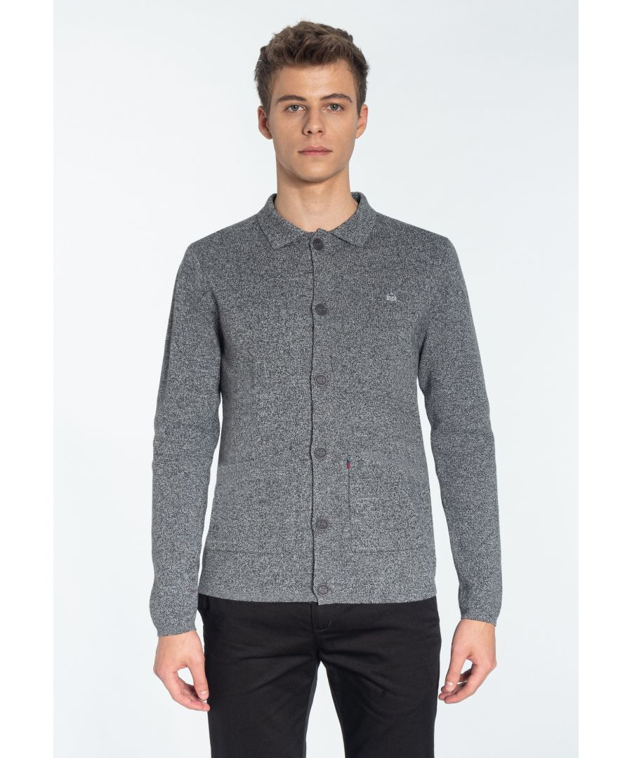 Image for ROTHWELL, Men's Milano Knited Jacket in Mineral Marl