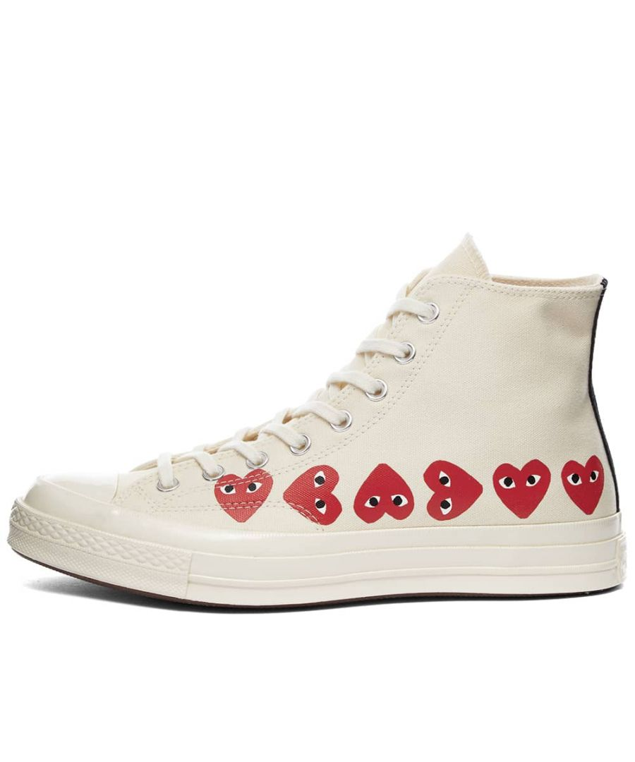 Image for Converse x Comme des Garcons Play Chuck Taylor All Star 70s Hi, Off White