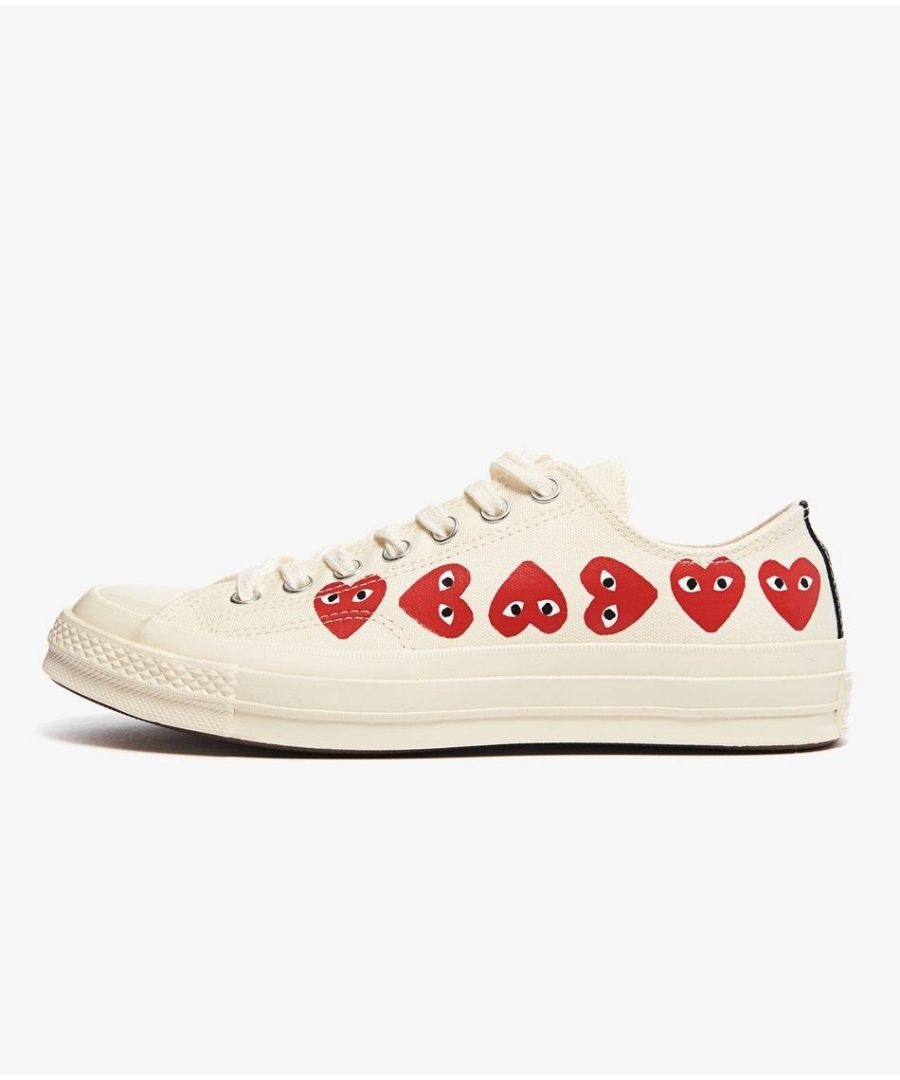 Image for Converse x Comme des Garcons Play Chuck Taylor All Star 70s OX, Off White