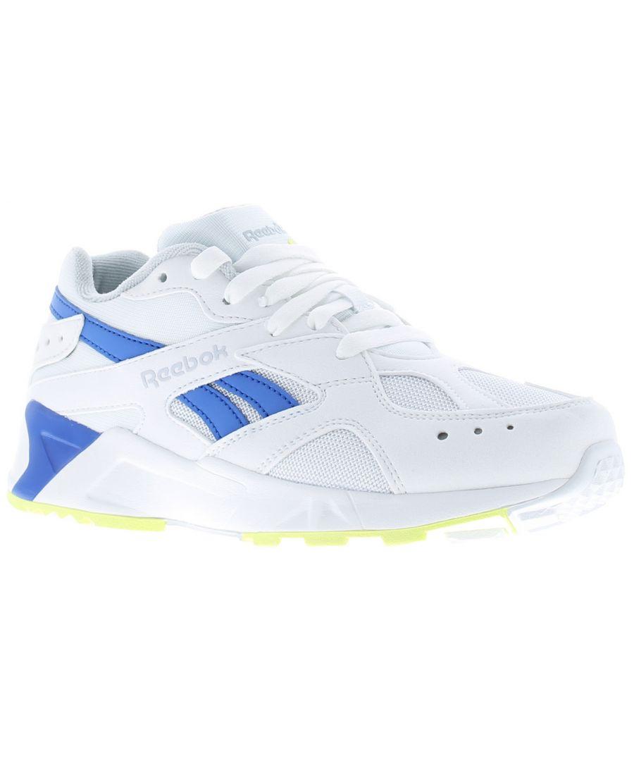 Image for Reebok Aztrek Older Boys Trainers White