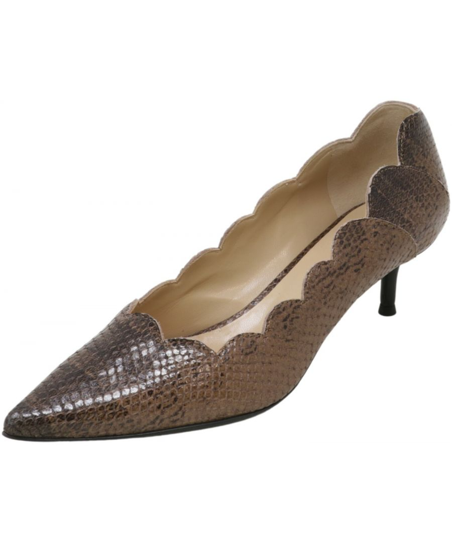 Image for Chloe Women's Davos St.ayers Oliana Pump Ankle-High Leather