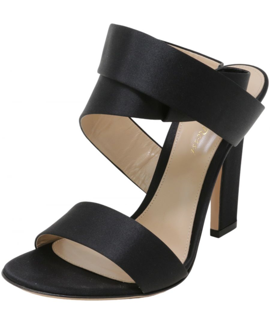 Image for Gianvito Rossi Women's Rae High-Top Fabric Heel