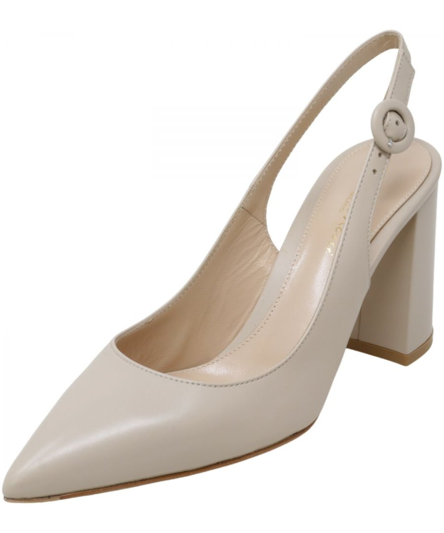 Image for Gianvito Rossi Women's Agata 85 Ankle-High Leather Pump