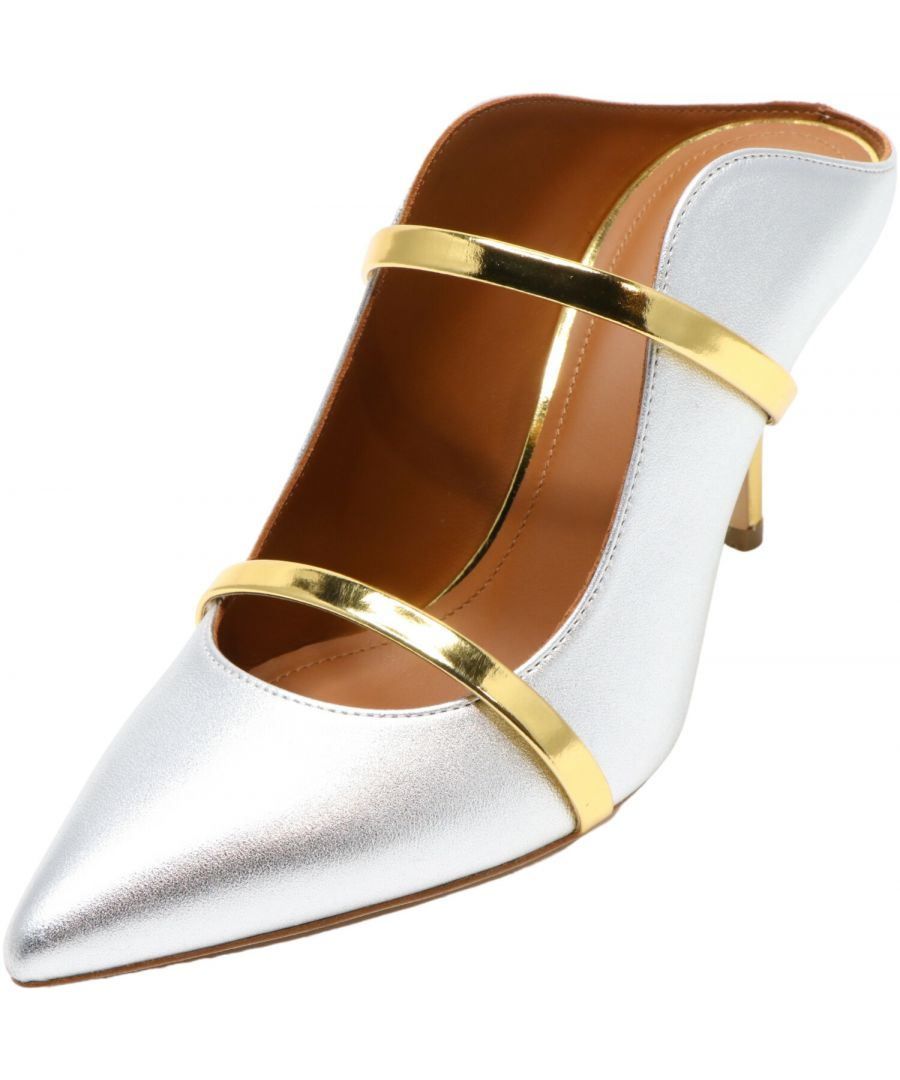 Image for Malone Souliers Women's Maureen Nappa Leather Pump