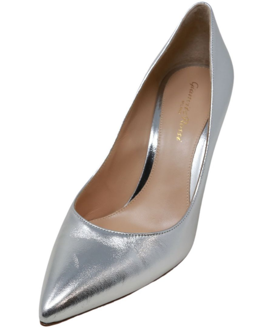 Image for Gianvito Rossi Women's 85 Pump Ankle-High Leather
