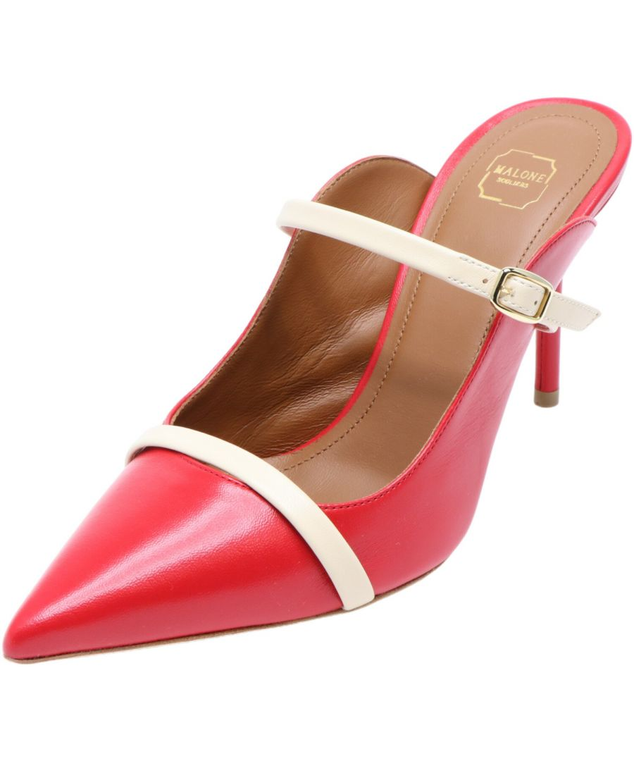 Image for Malone Souliers Women's Melody Nappa Leather Pump