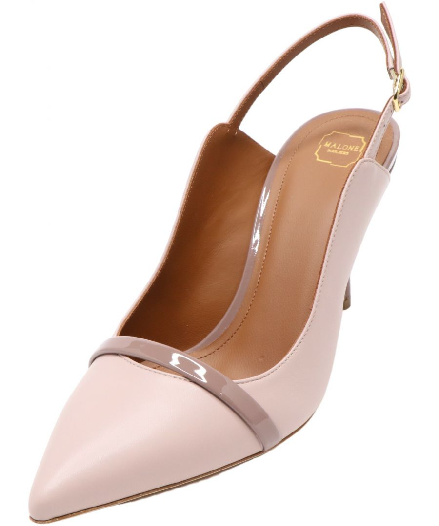 Image for Malone Souliers Women's Marion Nappa Ankle-High Leather Pump