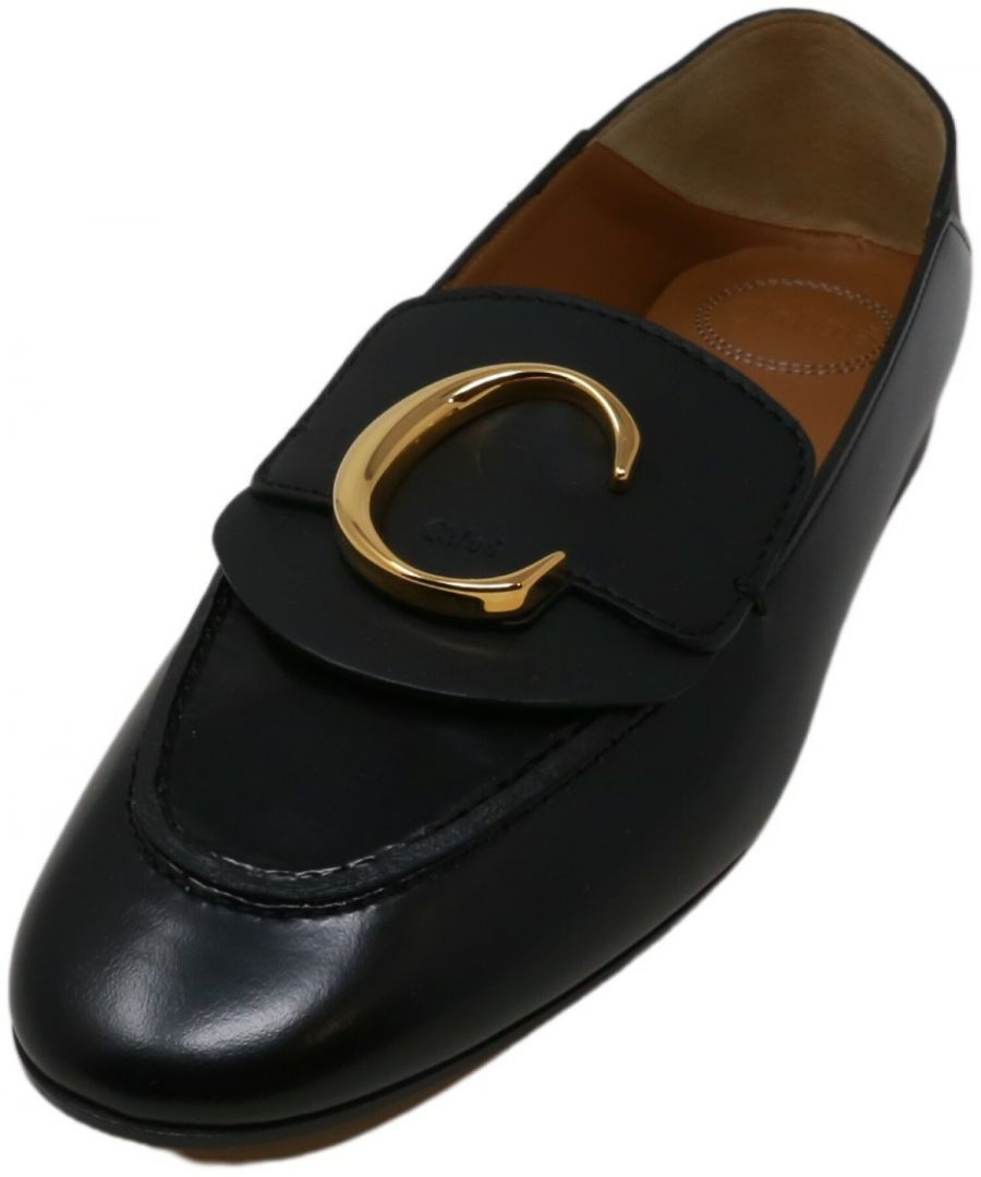 Image for Chloe Women's Angkor 120 Vit Nappa Loafers Ankle-High Leather & Slip-On