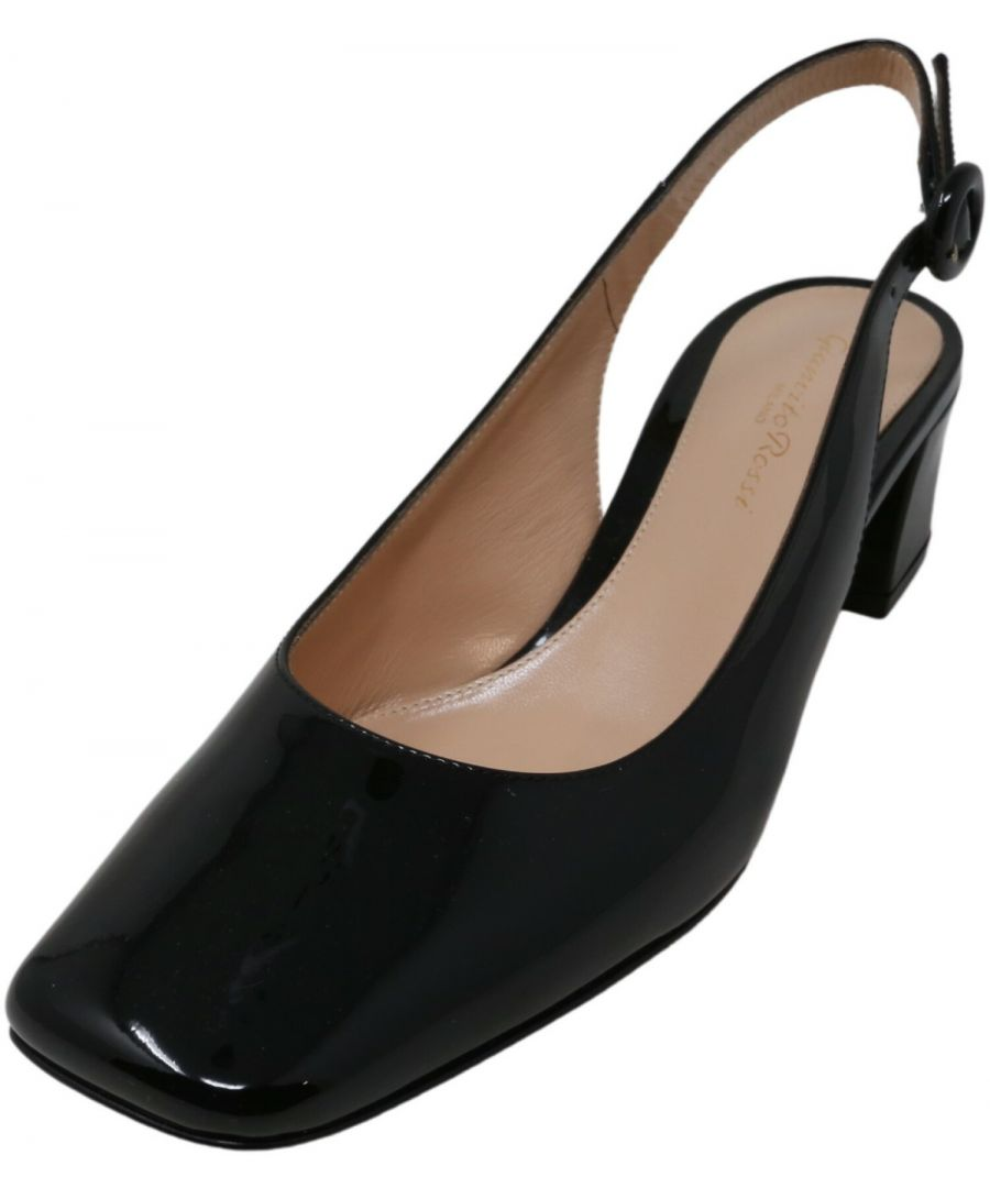 Image for Gianvito Rossi Women's Tish Ankle-High Leather Slingback