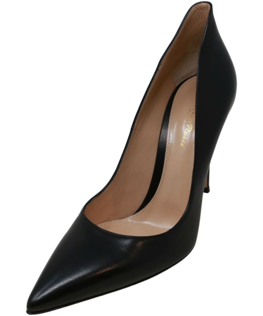 Image for Gianvito Rossi Women's Ellipsis Ankle-High Leather Slingback