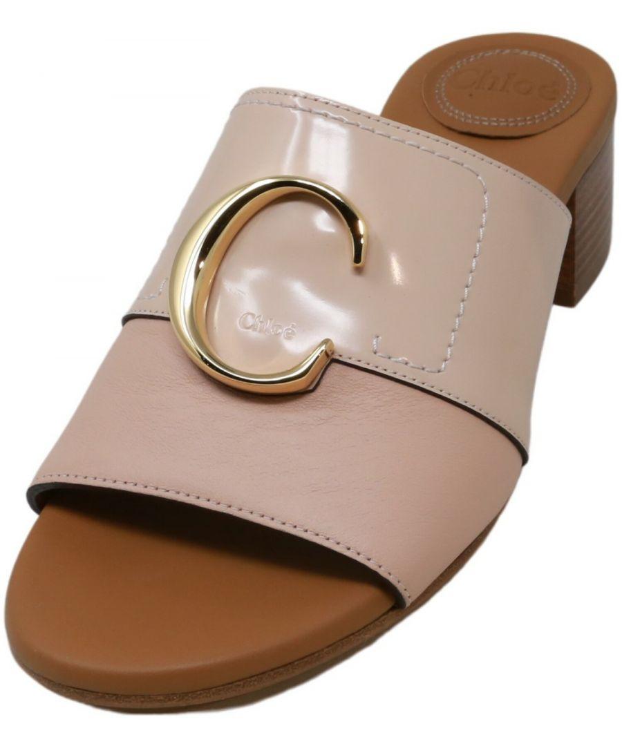 Image for Chloe Women's Vit. Nappa Plonge Sandal Slip-On Shoes